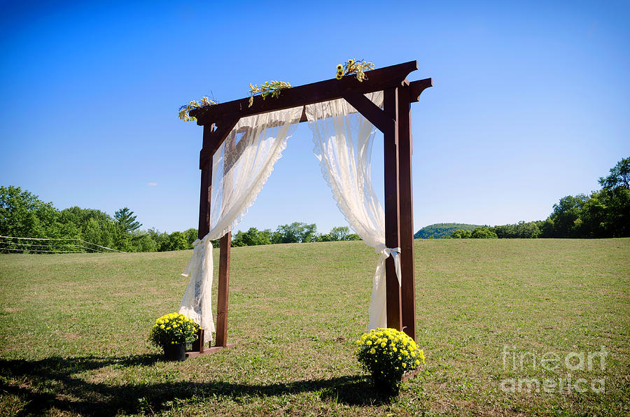 Wedding Arbor by Eclectic Edge Photography Kevin and Diana Holton