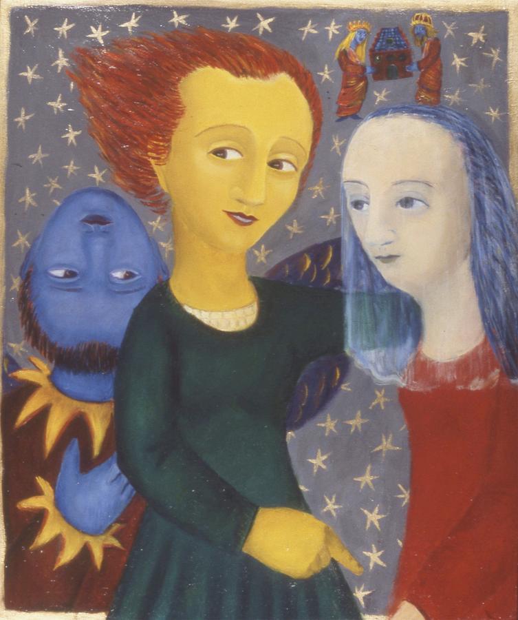 Metaphorical Painting - Wedding by Bert Menco
