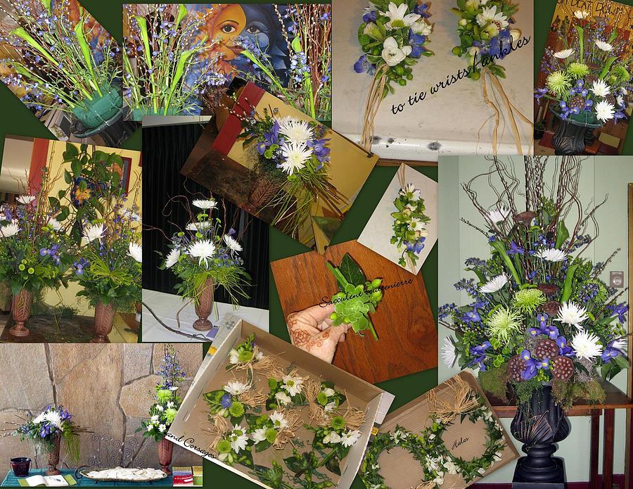 Ogden Mixed Media - Wedding Flowers by An Array of Artistry