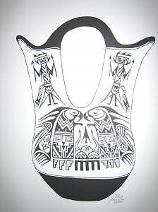 Limited Edition Drawing - Wedding Jar by Joanie Arvin