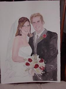 Wedding  Paintings  Painting by Maureen Wilkinson
