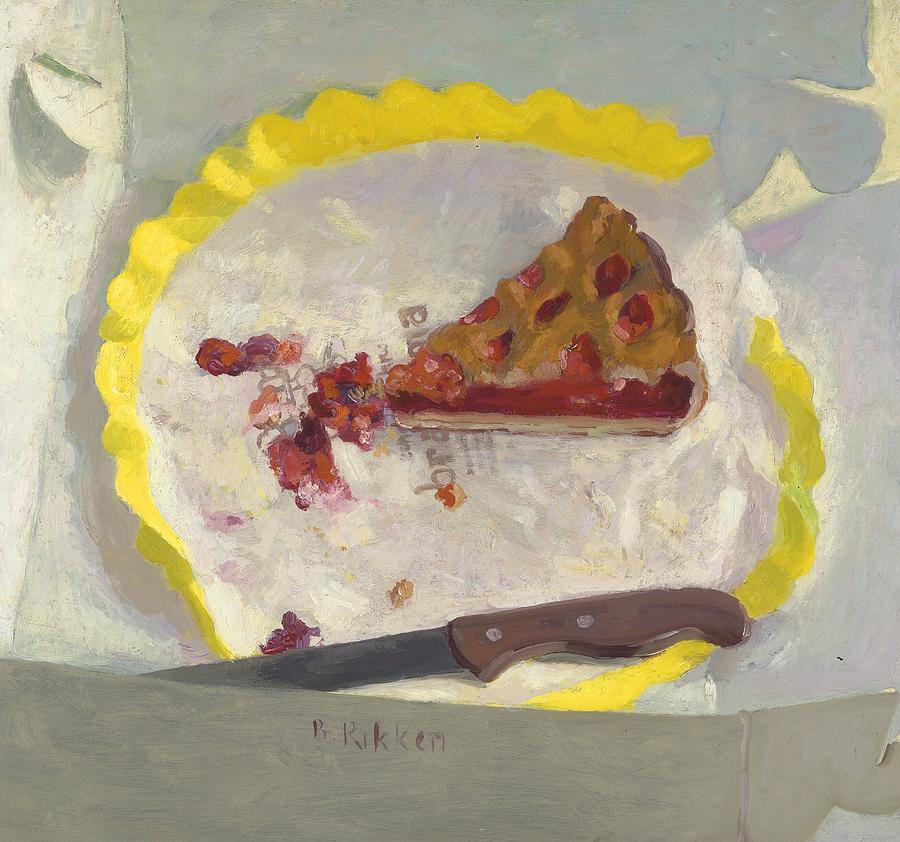 Pie Painting - Wedge Of Cake by Ben Rikken