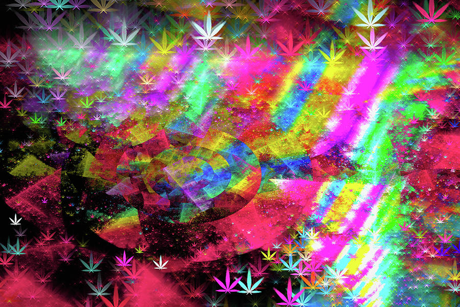 Weed Abstract Art