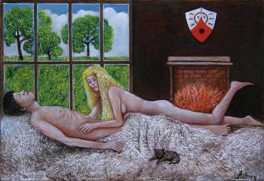 Weekend Painting - Weekend by Rudolf  Zamazal