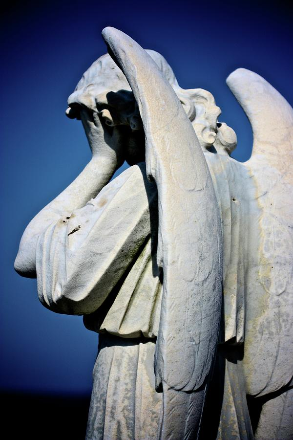 Angel Photograph - Weeping Angel by KC Moffatt