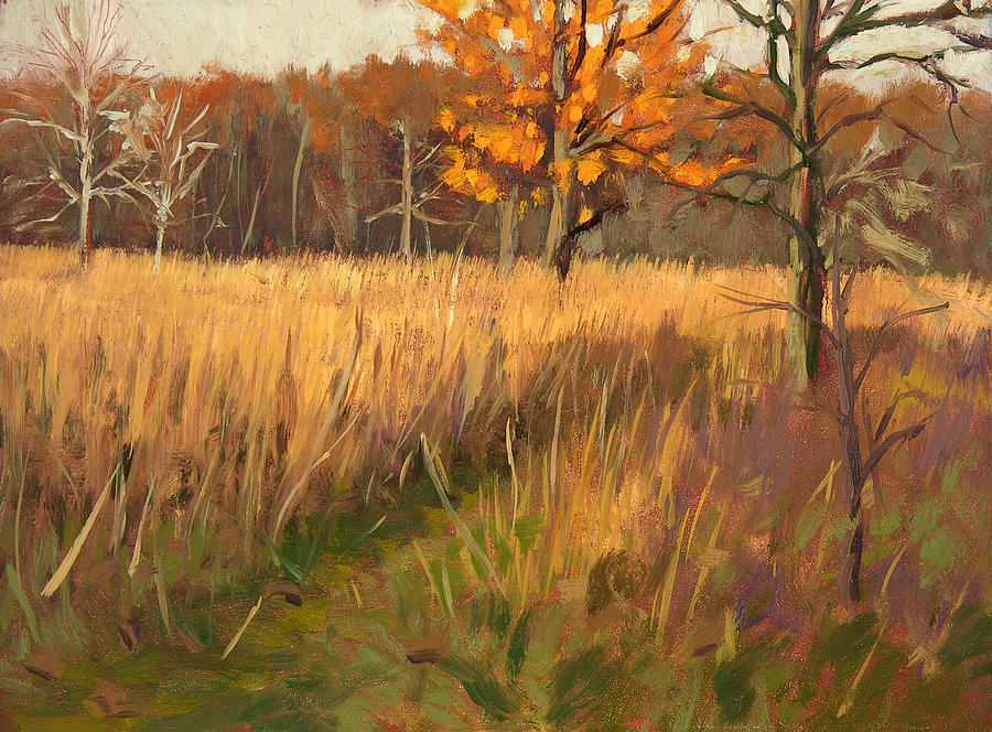 Plein Air Painting - Wehr Nature Center No. 2 by Anthony Sell