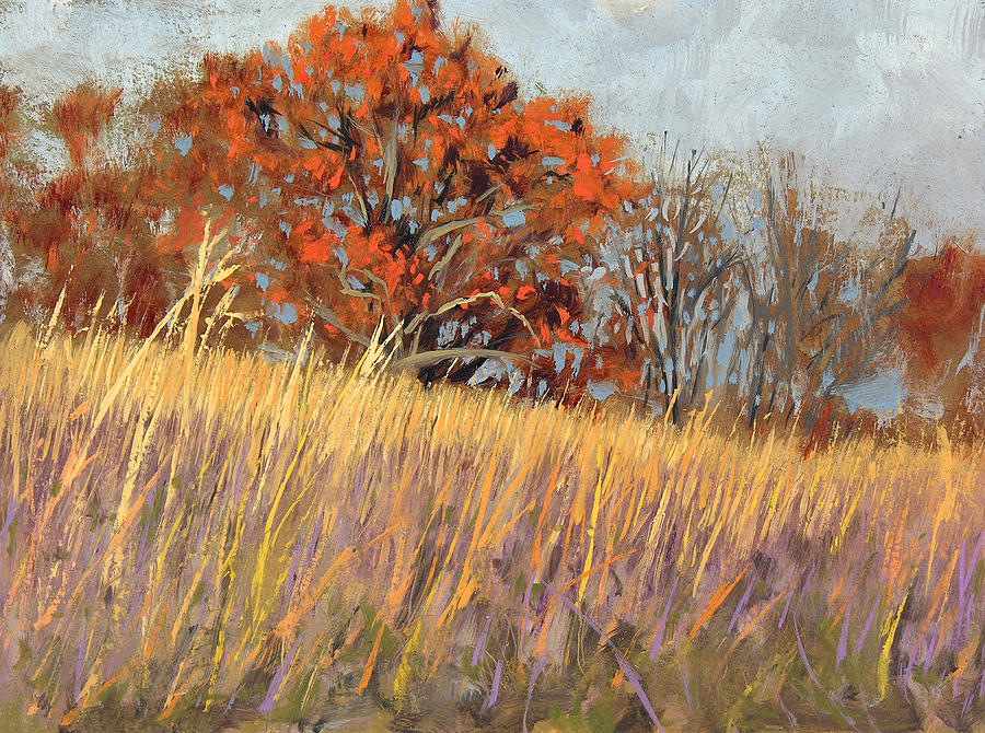 Park Painting - Wehr Nature Center No. 3 by Anthony Sell