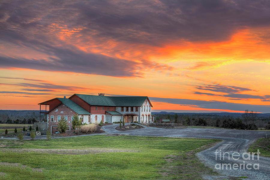 2015 Photograph - Weingarten Winery  by Larry Braun