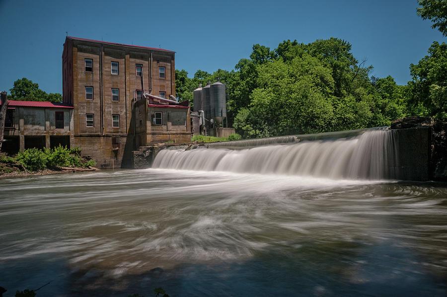 Mill Photograph - Weisenberger Mill by Barry Fowler