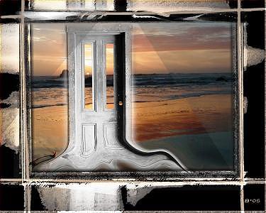 Sunset Digital Art - Welcome Home by Brenda Starr