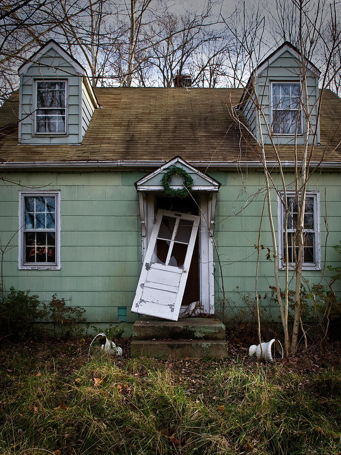 Derelict Photograph - Welcome Home by Murray Bloom
