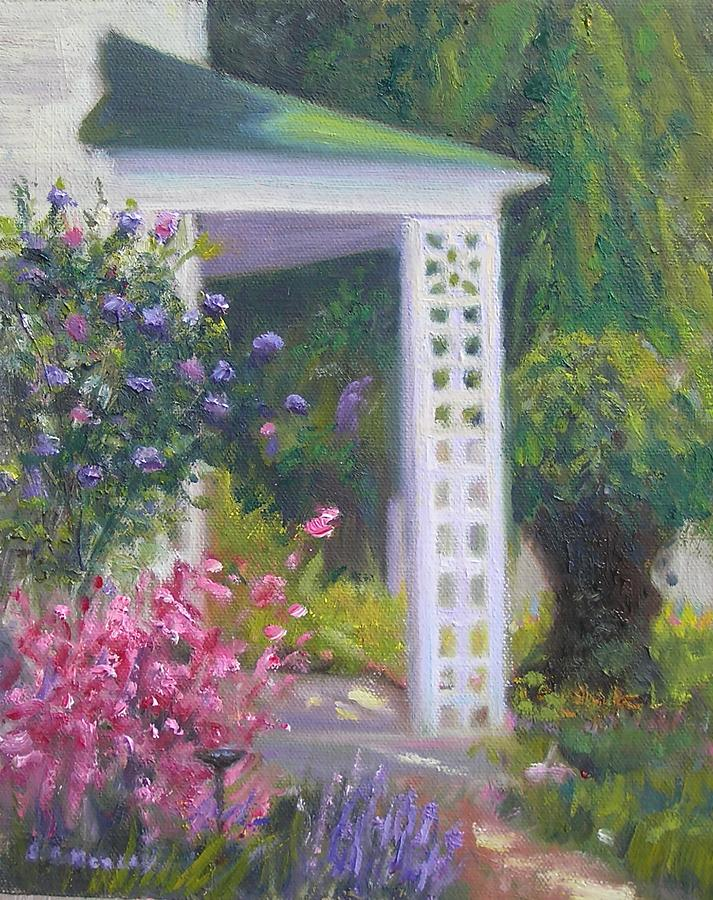 Landscape Painting - Welcome Home by Sharon Morley