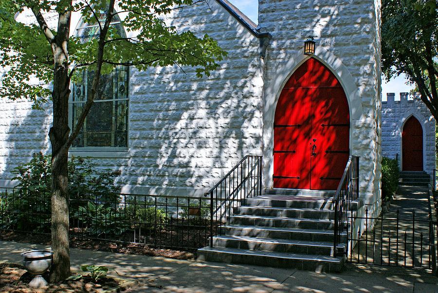 Church Photograph - Welcome by Sandy Keeton