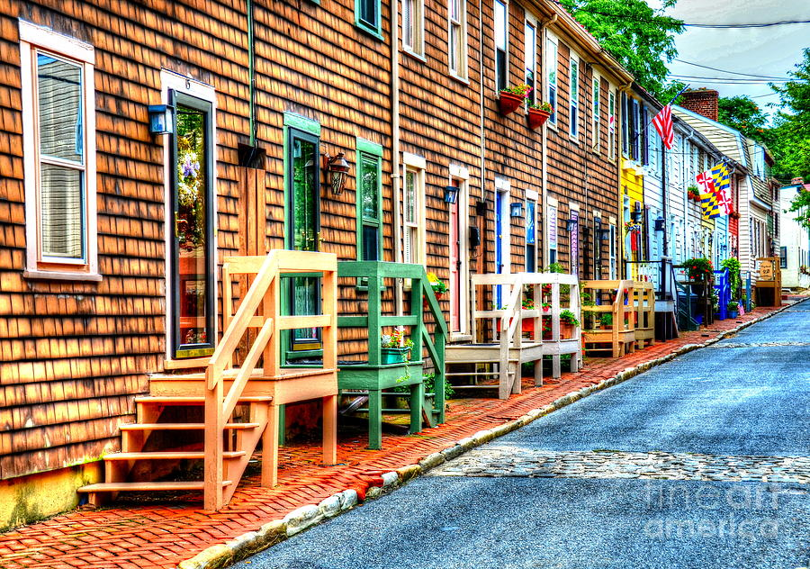 Annapolis Photograph - Welcome To Annapolis by Debbi Granruth