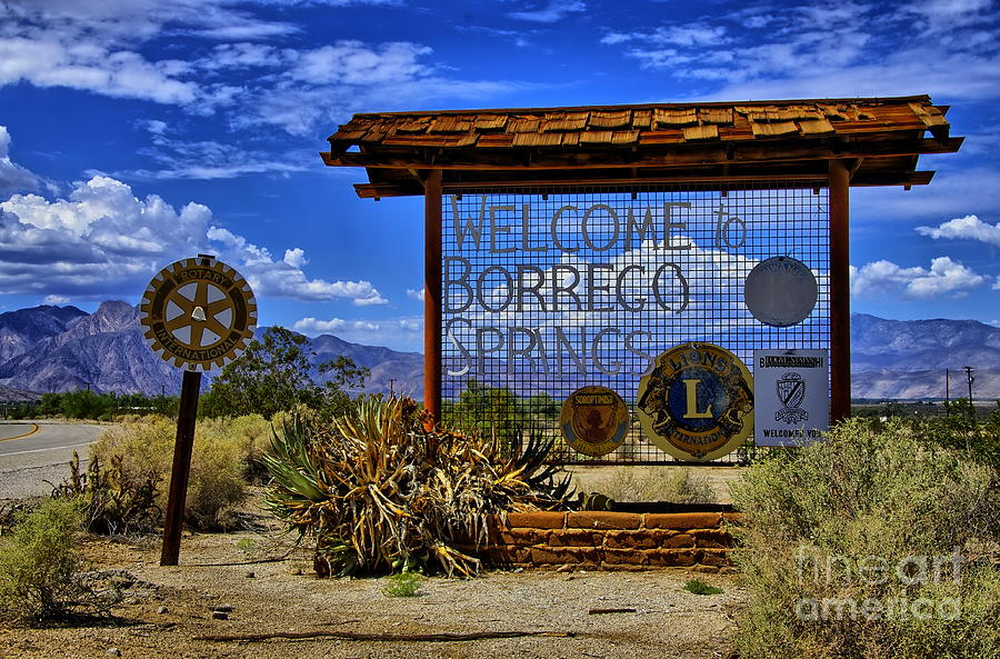 Welcome to Borrego Springs by Alex Morales