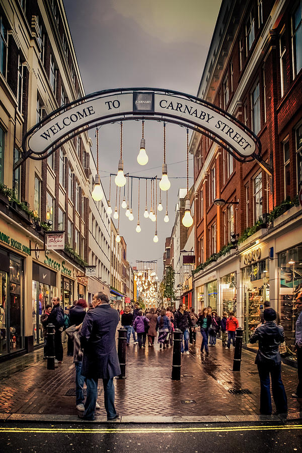 Britain Photograph - Welcome To Carnaby Street London by Alex Saunders