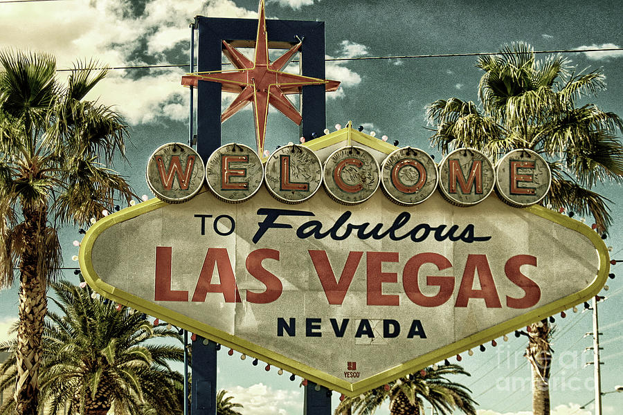 Welcome To Fabulous Las Vegas Photograph