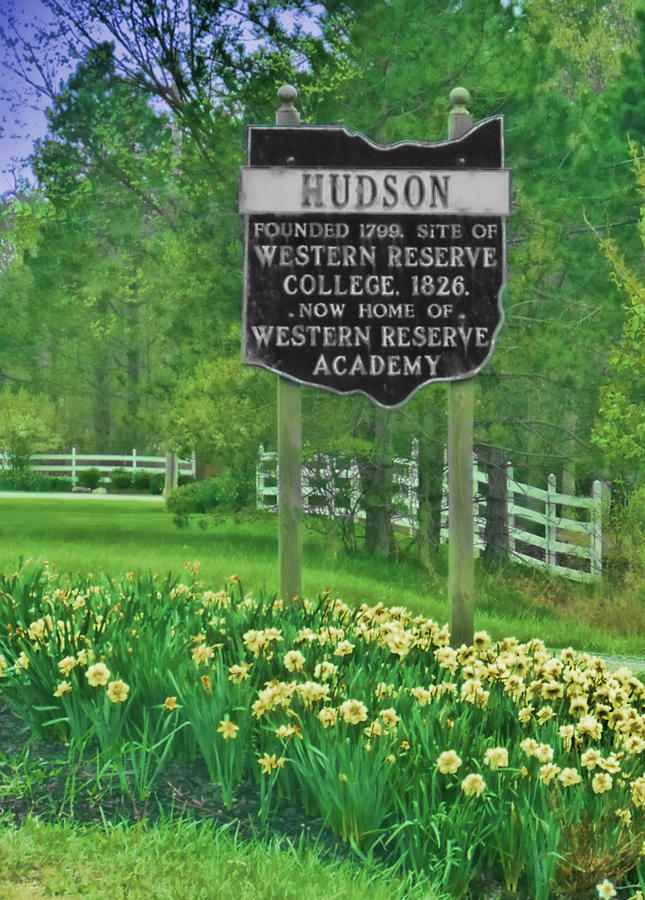 Welcome To Hudson Ohio Photograph