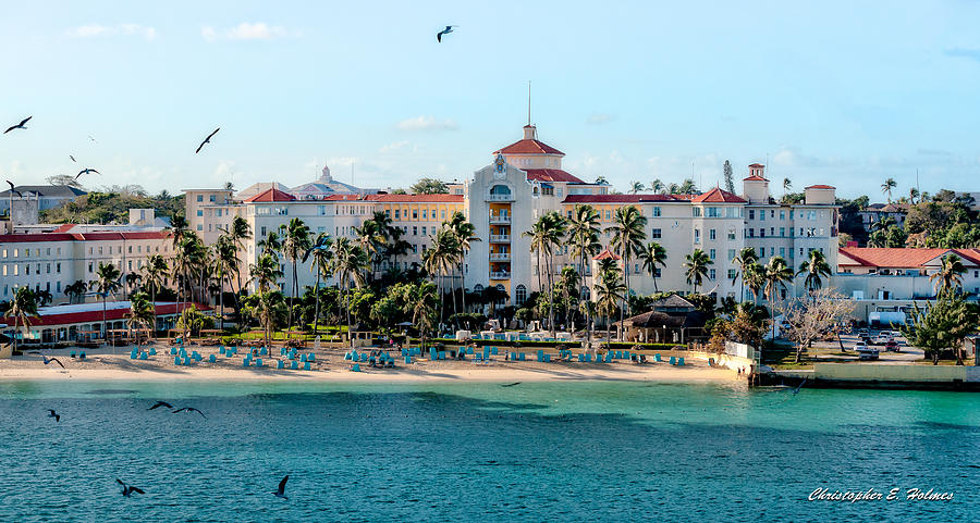 Nassau Photograph - Welcome To Nassau by Christopher Holmes