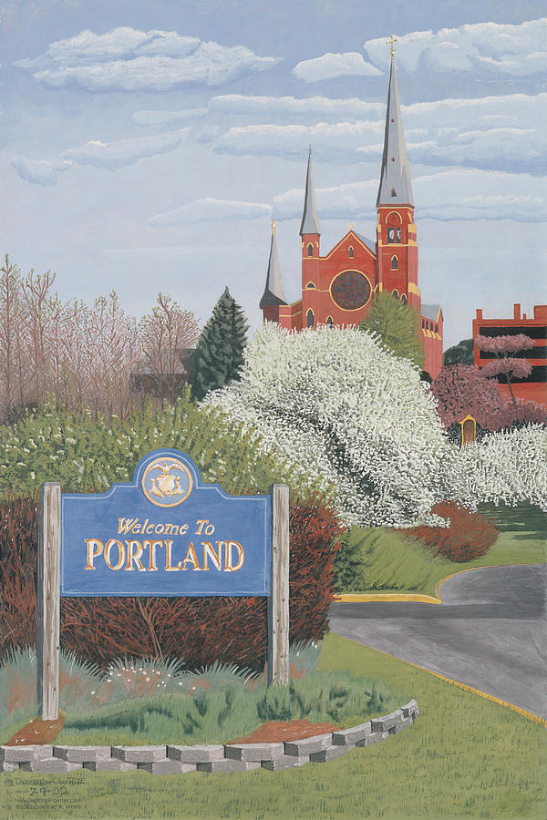 Welcome to Portland by Dominic White