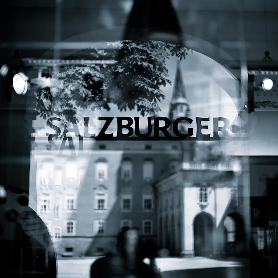Salzburg Photograph - Welcome To Salzburg by Dave Bowman