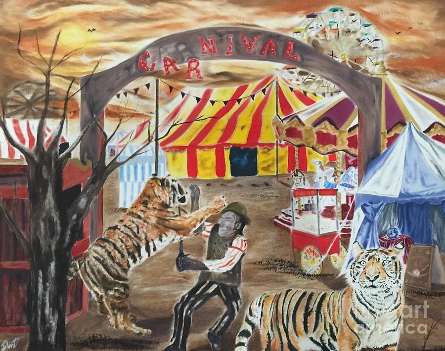 Image result for carnival painting