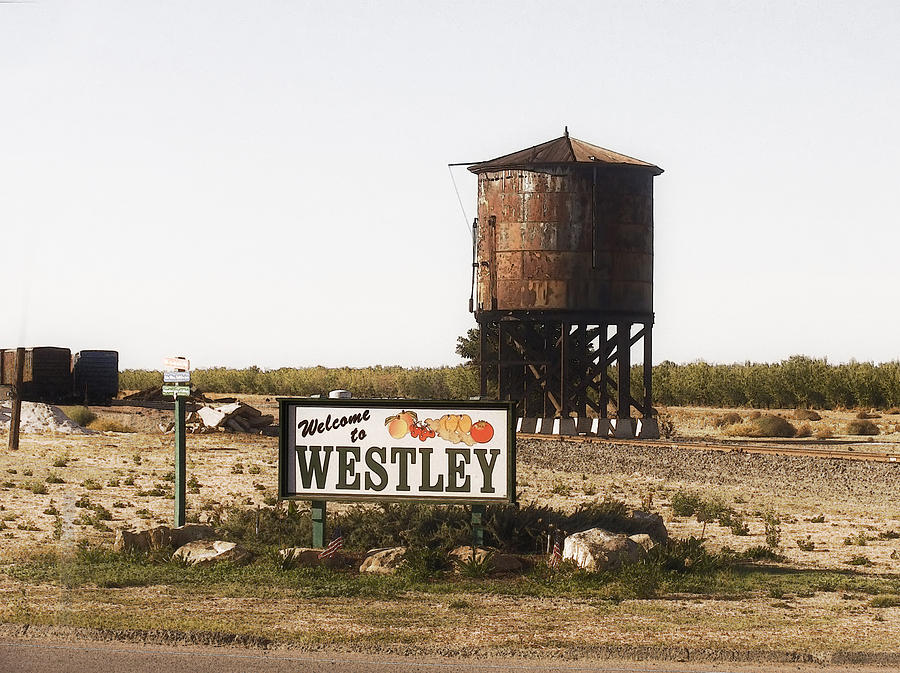 Landscape Photograph - Welcome To Westley by Karen  W Meyer