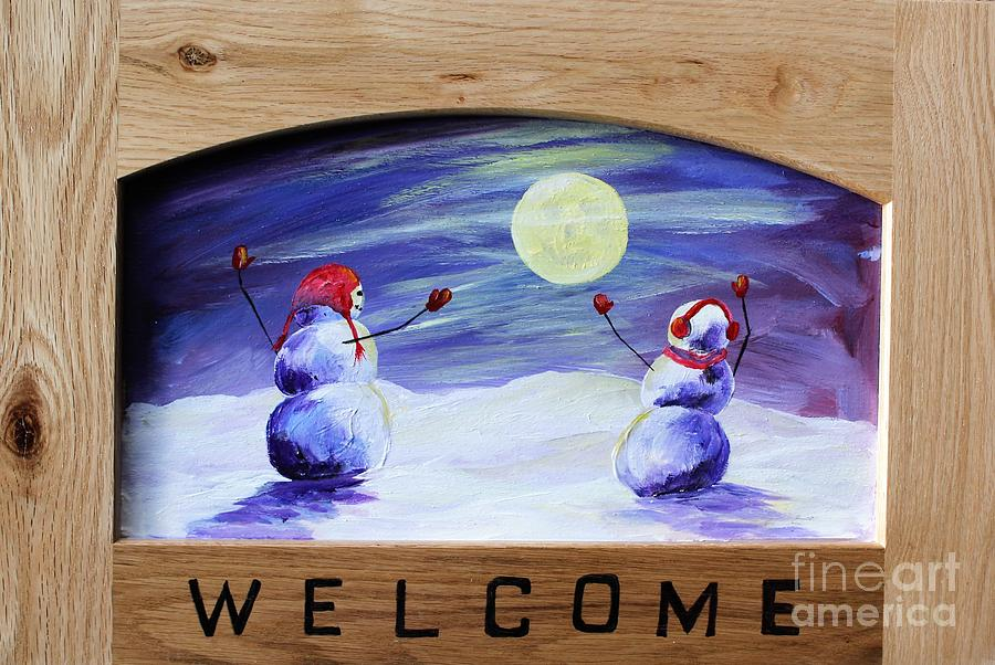 Welcome Winter by Linda Steine