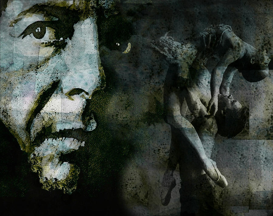 Leonard Cohen Painting - Well , Ive Heard There Is A Secret Chord by Paul Lovering