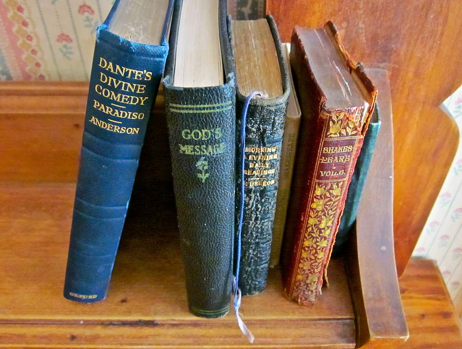 Dante Photograph - Well Worn ... Well Read ... Well ... by Gwyn Newcombe