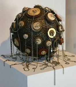 Assemblage Sculpture - Wellspring by Susan Danis