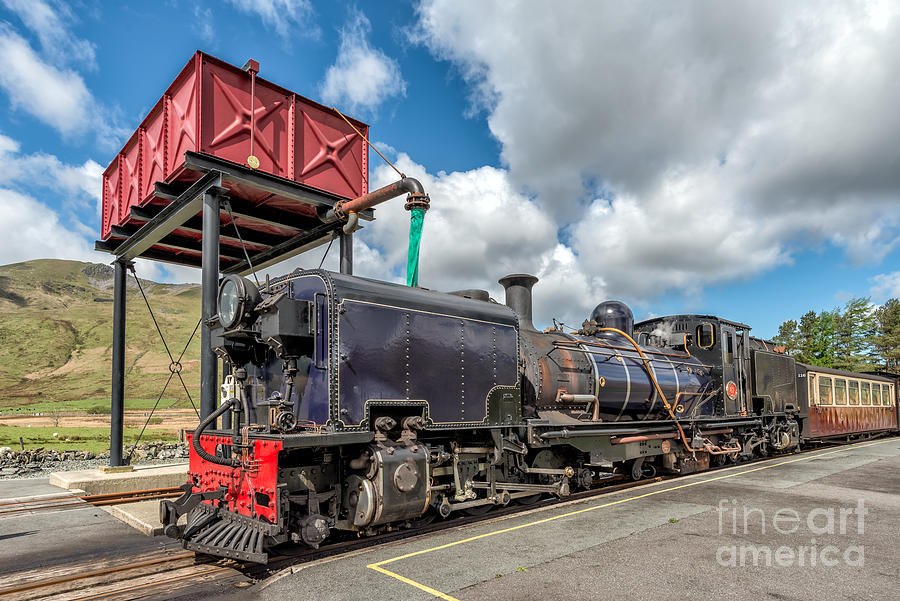 Steam Train Photograph - Welsh Highland Railway by Adrian Evans