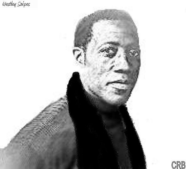 Wesley Snipes Painting by Cece Bazel