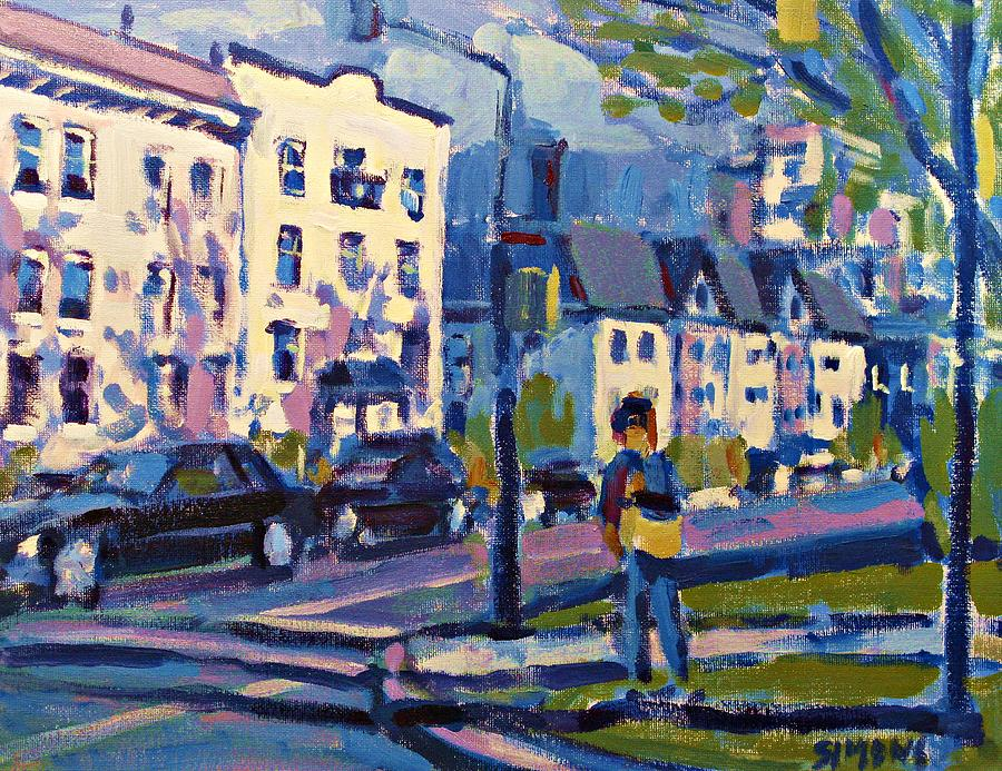 Landscape Paintings Painting - West 16th by Brian Simons