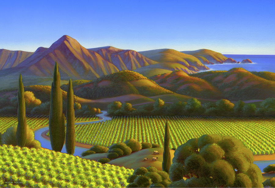 California Dreaming Painting - West Coast Dreaming by Robin Moline
