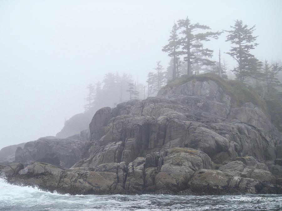 West Coast Landscape Ocean Fog I by Roxy Hurtubise