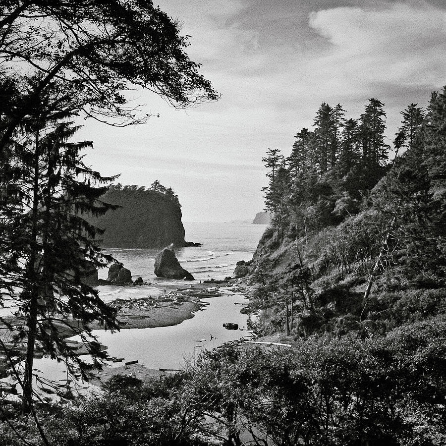 Square Photograph - West Coast by Sbk_20d Pictures