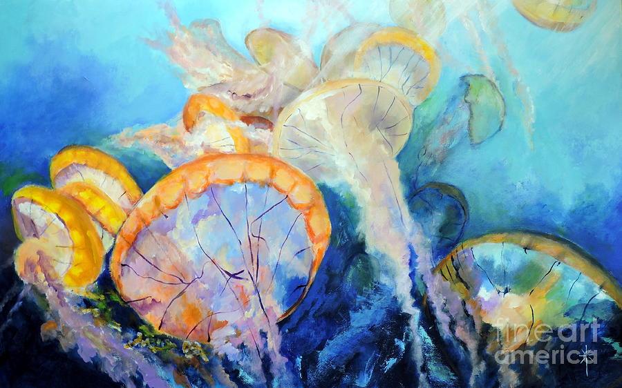 West Coast Sea Nettles by Jodie Marie Anne Richardson Traugott          aka jm-ART