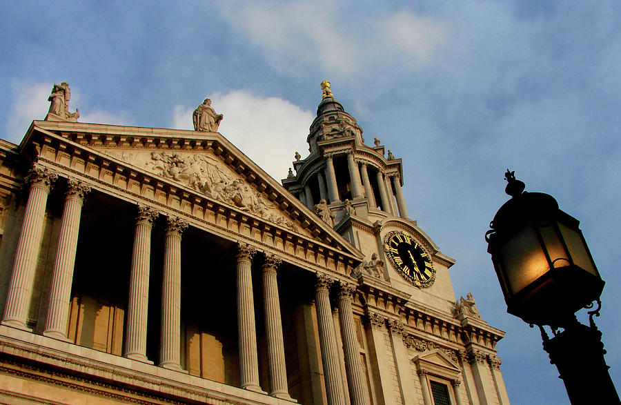 St.paul's Photograph - West Front Of St.pauls Cathedral, London by Iqbal Misentropy