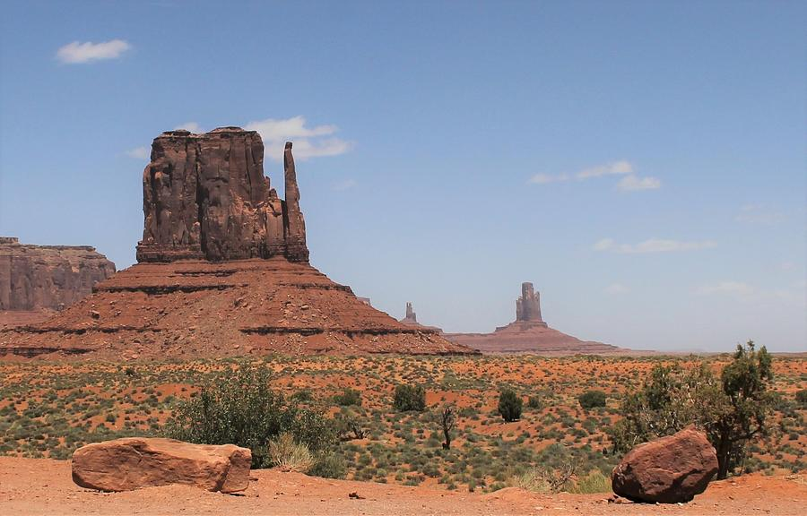 West Mitten Butte Monument Valley by Christopher Kirby