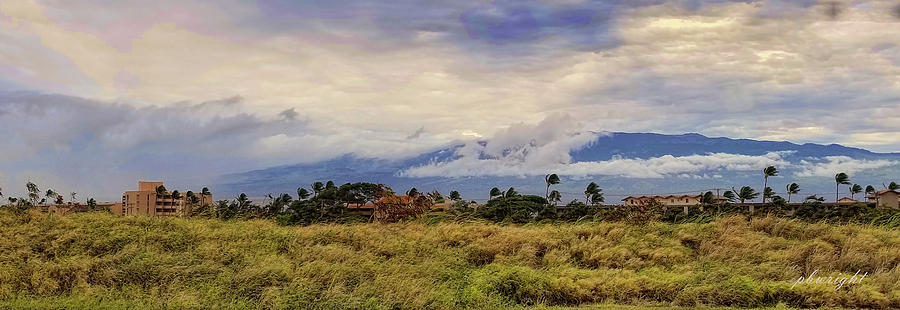 West Mountains - Maui by Paulette B Wright