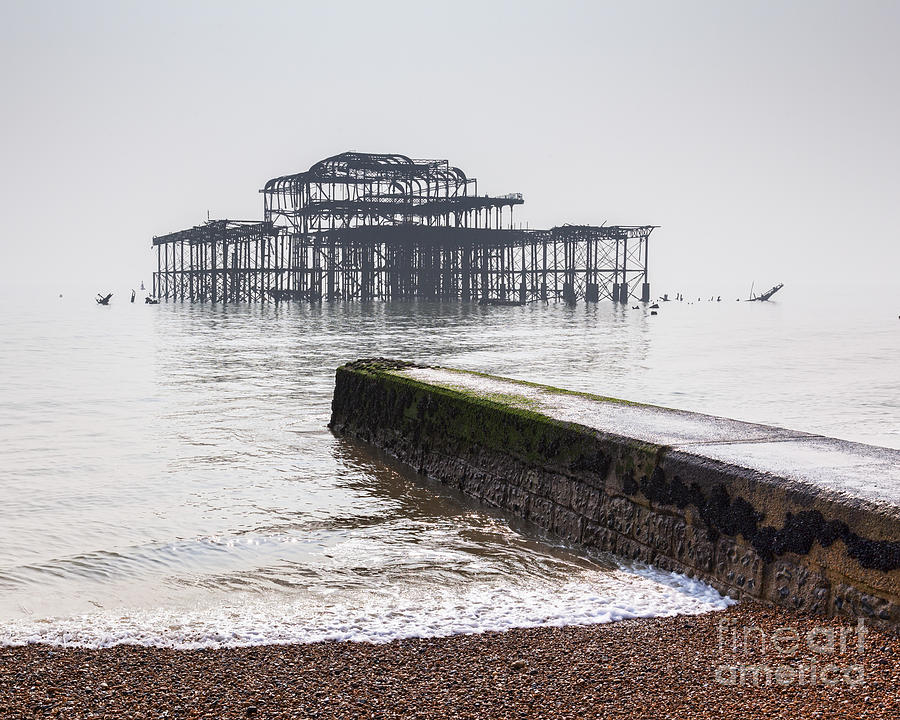 Brighton Photograph - West Pier At Brighton by Colin and Linda McKie