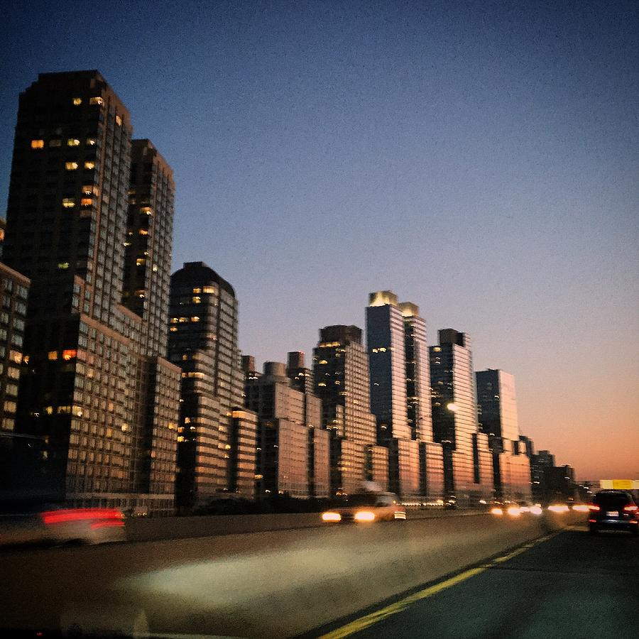 West Side Photograph - West Side Sunset by Joseph Mari