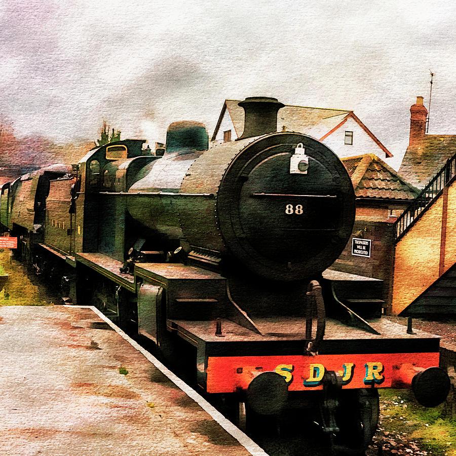 Train Photograph - West Somerset Railways Train. by Paul Cullen