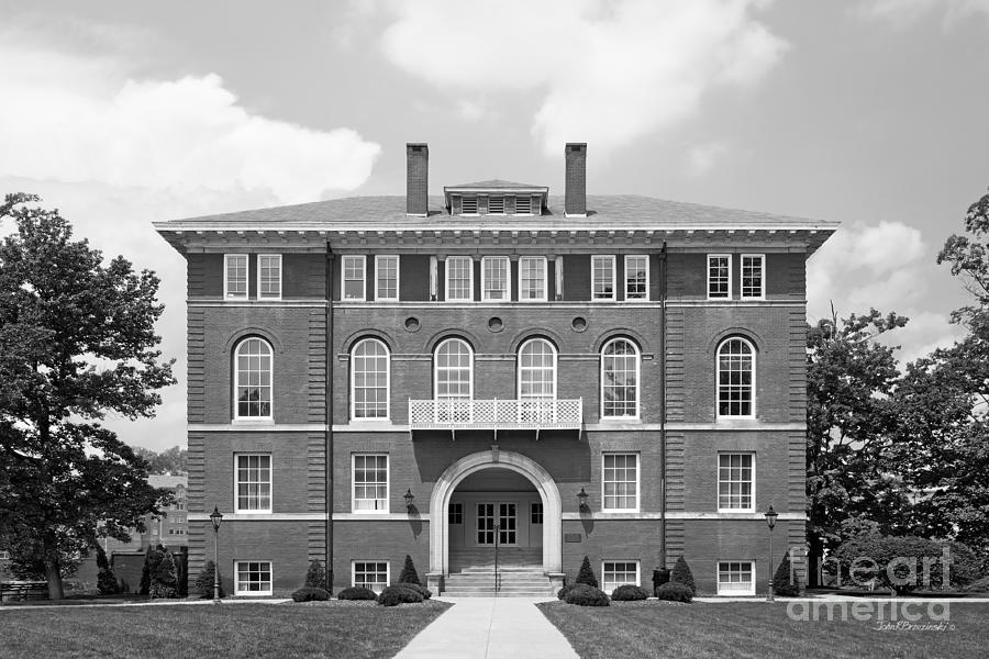 Morgantown Photograph - West Viriginia University Chitwood Hall by University Icons