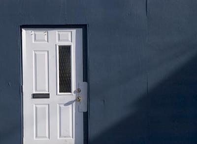 Architecture Photograph - Westboro Doorway Ottawa by Catherine Kelly