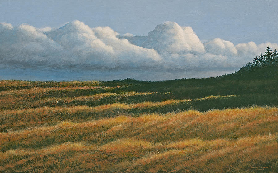 Westerly Painting by Laurie Stewart