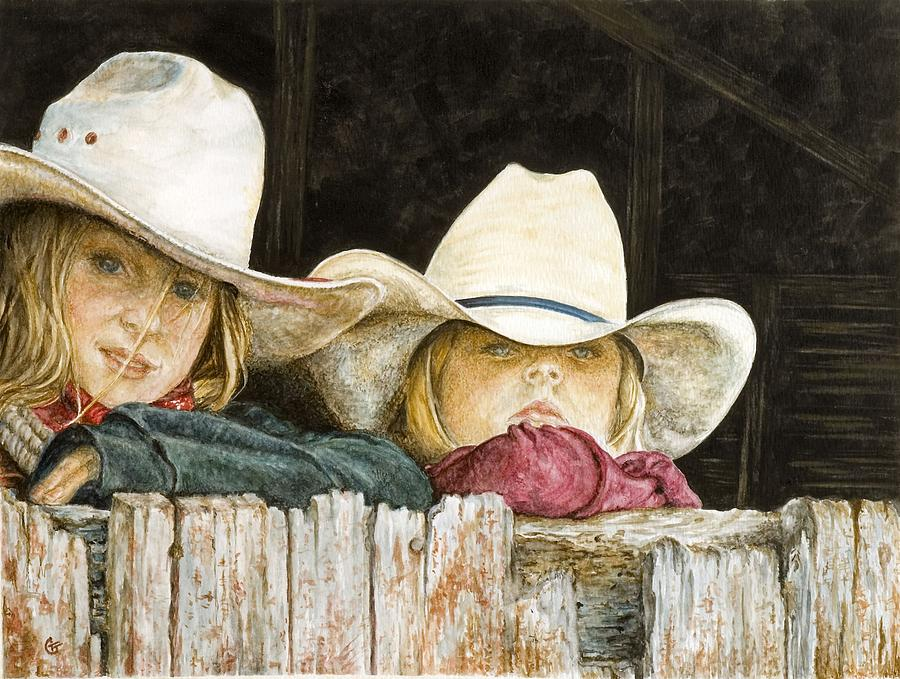 Western Paintings Painting - Western Daydreams  by Traci Goebel