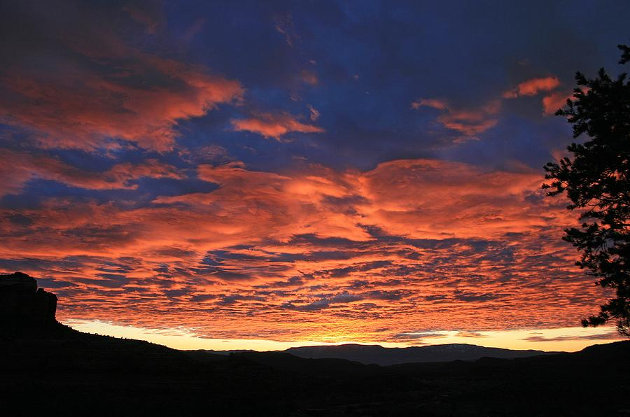 Sunsets Photograph - Western Days End by Gary Kaylor