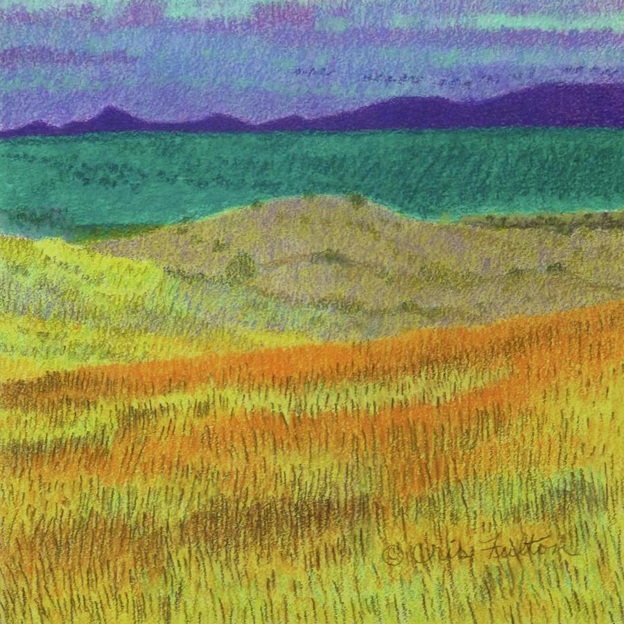 North Dakota Painting - Western Edge Prairie Dream by Cris Fulton
